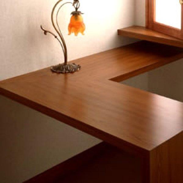 画像1: Wooden table (1)